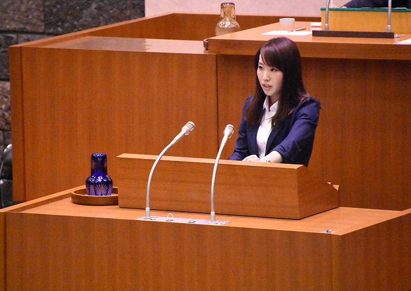 千葉県議会一般質問登壇